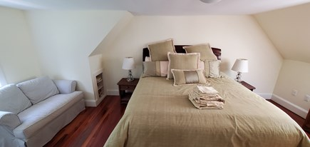 Eastham Cape Cod vacation rental - King Bedroom with twin sleepsofa