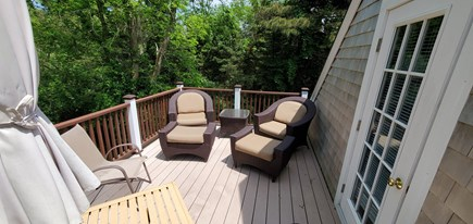 Eastham Cape Cod vacation rental - Upper Level Deck