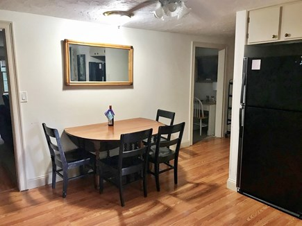 West Yarmouth Cape Cod vacation rental - Kitchen includes large dining table with 2 leaves