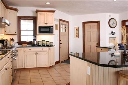 Barnstable Cape Cod vacation rental - Kitchen overlooks the living & dining rooms--and the water!