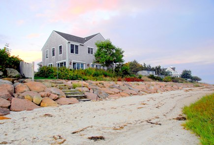 Barnstable Cape Cod vacation rental - Luxury home located on a pet friendly, private beach!