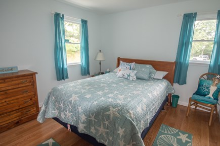 Truro Cape Cod vacation rental - Bedroom 1 w/beautiful hardwood flooring.