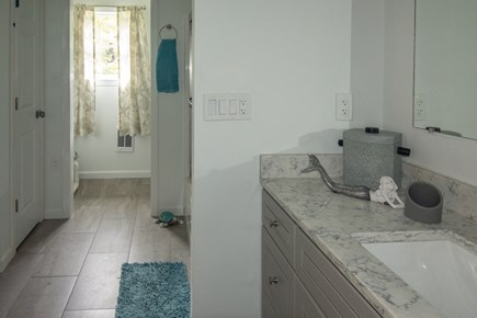 Truro Cape Cod vacation rental - Full bath w/bath and shower unit.