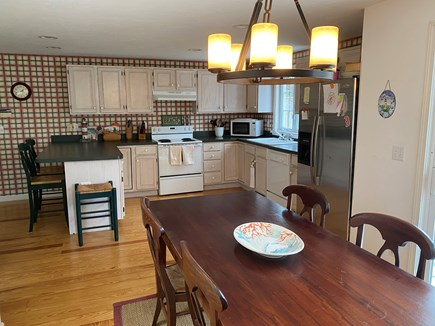 Harwich Cape Cod vacation rental - Kitchen & eating area