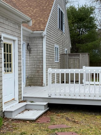 Harwich Cape Cod vacation rental - Back Deck