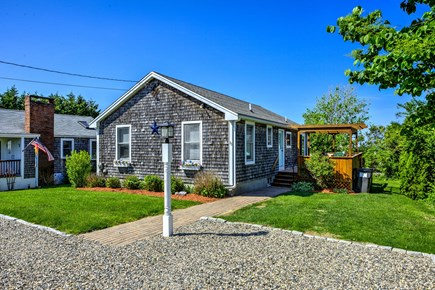 Sandwich Cape Cod vacation rental - View of cottage from roadside.