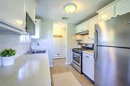 Sandwich Cape Cod vacation rental - Sleek stainless contemporary Kitchen.