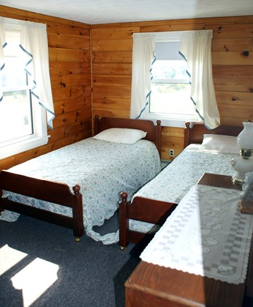 Sandwich, Sagamore Beach Cape Cod vacation rental - Bedroom 1 with 2 Twins.