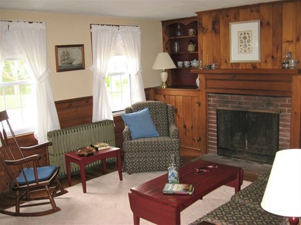 Bourne, Gray Gables Cape Cod vacation rental - Comfortable living room