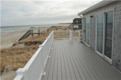 East Sandwich Beach.  Just off Cape Cod vacation rental - View towards Scorton Creek from deck.