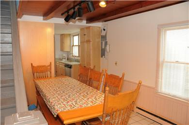 East Sandwich Beach.  Just off Cape Cod vacation rental - Dining area seats up to 10.