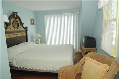 East Sandwich Beach.  Just off Cape Cod vacation rental - Large second floor BR, beach view, cable TV/modem, king bed.
