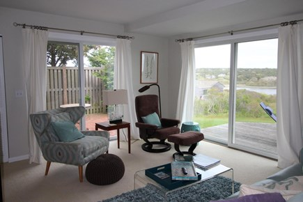 Truro Cape Cod vacation rental - LIbrary/Den