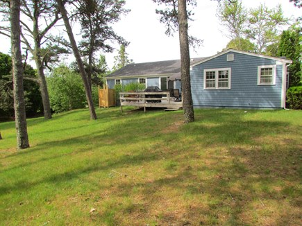 Chatham Cape Cod vacation rental - Back of home with deck, grill and outside shower