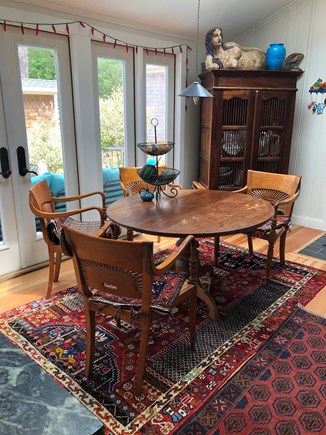 Eastham Cape Cod vacation rental - Dining area is opposite the living area and next to the kitchen