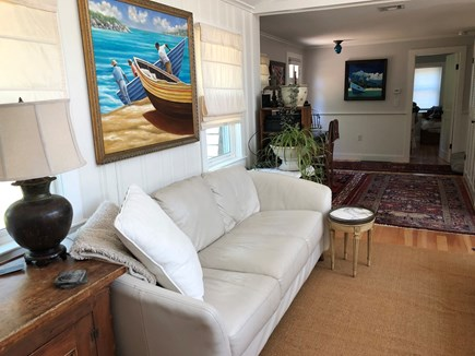 Eastham Cape Cod vacation rental - Nook and bedroom entrace at back of pic