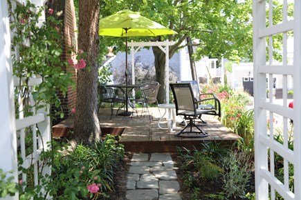 Provincetown Cape Cod vacation rental - Garden Common Area