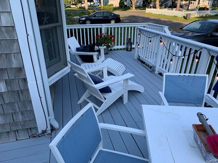 Falmouth, Maravista Cape Cod vacation rental - Gated Deck for pets