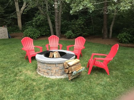 Eastham Cape Cod vacation rental - Relax by the new fire pit.