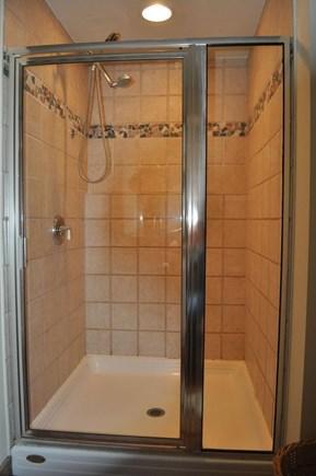 Eastham Cape Cod vacation rental - Master Bathroom shower
