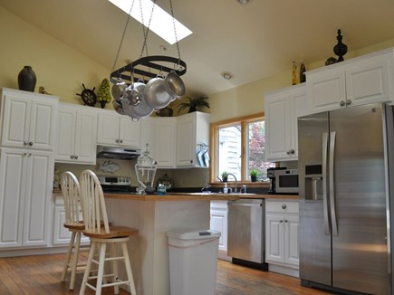 Eastham Cape Cod vacation rental - Fully equipped kitchen with island