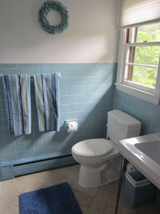 East Orleans Cape Cod vacation rental - Bathroom off master bedroom, shower to left