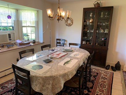 East Orleans Cape Cod vacation rental - Dining room, seats 6 comfortably possibly up to 8