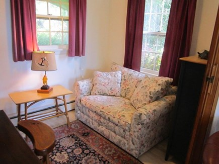 East Orleans Cape Cod vacation rental - Small den off living room, single pull out sofa