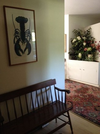 East Orleans Cape Cod vacation rental - Front hallway entrance