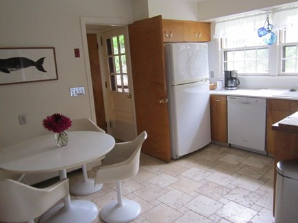 East Orleans Cape Cod vacation rental - Kitchen with dining area, washer and dryer not in picture