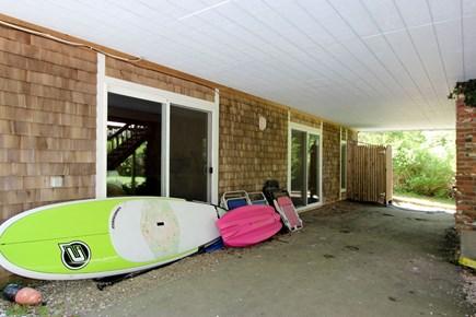 Wellfleet Cape Cod vacation rental - Exterior under deck