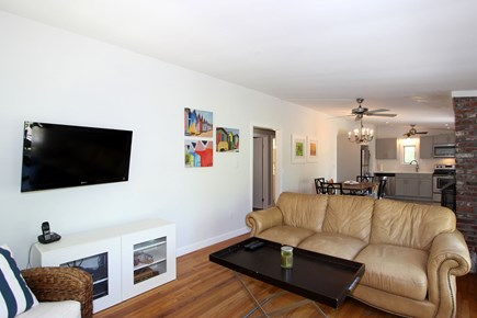 Wellfleet Cape Cod vacation rental - Living room area alternate view