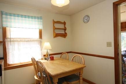 Dennis Port Cape Cod vacation rental - Dining area to enjoy your morning coffee
