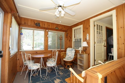 Dennis Port Cape Cod vacation rental - Enclosed porch to enjoy the breeze...without the bugs