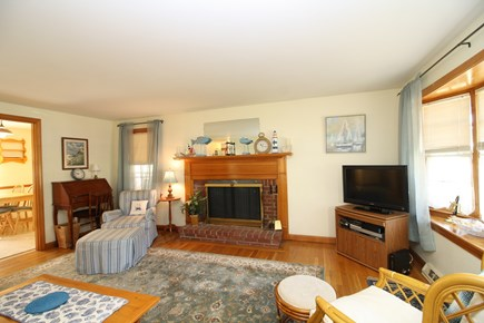 Dennis Port Cape Cod vacation rental - Comfortable living room with cable TV and WiFi