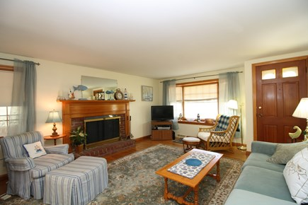 Dennis Port Cape Cod vacation rental - Light and bright living room.