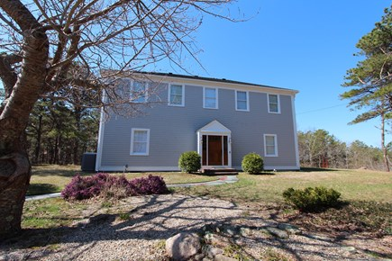 Truro Cape Cod vacation rental - Front of the House, lots of land and Privacy
