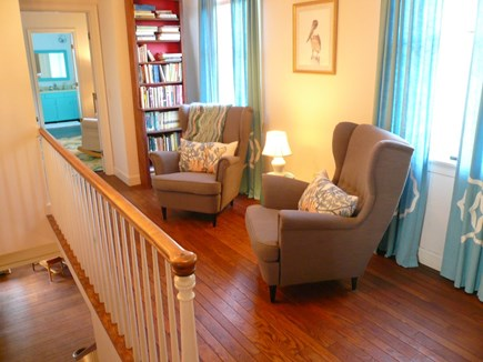 Truro Cape Cod vacation rental - Upstairs Hall with Seating