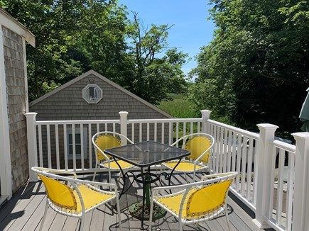 Centerville Centerville vacation rental - Back deck with barbecue grill.