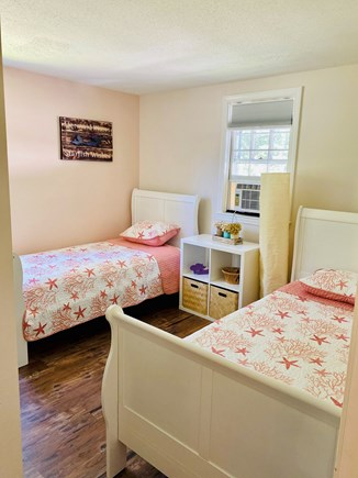 Brewster Cape Cod vacation rental - First floor bedroom 2 Twins