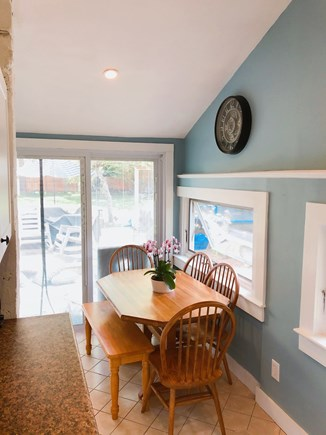 Dennisport Cape Cod vacation rental - Dining area (sits 6/7)