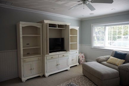 Osterville Osterville vacation rental - Den with TV