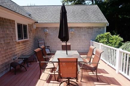 Osterville Osterville vacation rental - Back deck