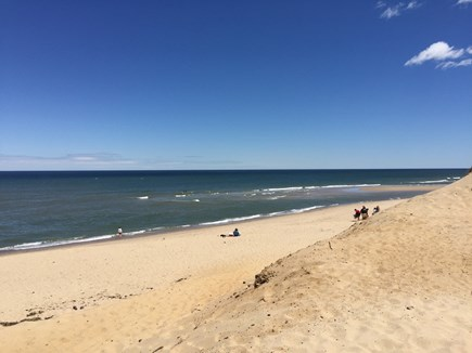 Wellfleet Cape Cod vacation rental - Spend the day at beautiful Newcomb Hollow's Beach, 10 minute walk
