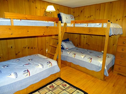 Wellfleet Cape Cod vacation rental - Bunk bed room on main level, sleeps 4