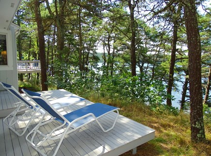 Wellfleet Cape Cod vacation rental - Deck off Master suite – perfect place for reading and relaxing