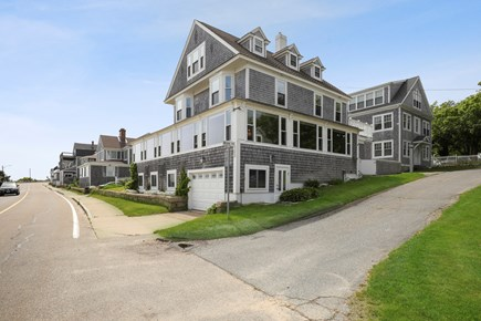 Falmouth Cape Cod vacation rental - Front view of grand home across the street from the beach