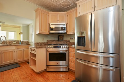 Falmouth Cape Cod vacation rental - Enjoy cooking in the kitchen while taking peeks at the ocean