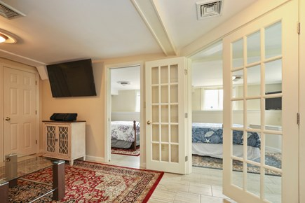 Falmouth Cape Cod vacation rental - Views into the two downstairs bedrooms