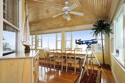 Falmouth Cape Cod vacation rental - Views of the water from kitchen area